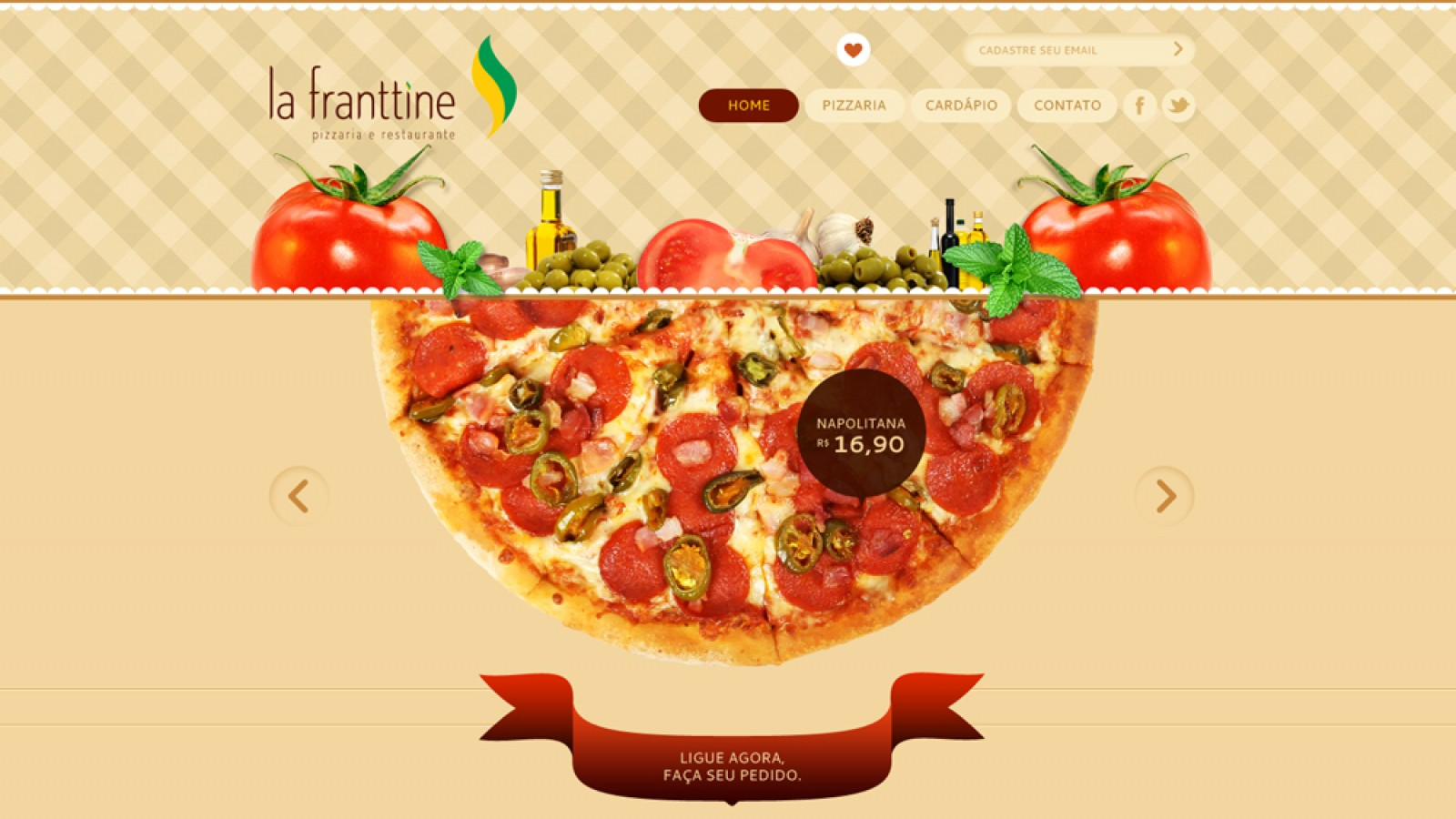 Website - La Franttine